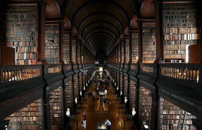 Trinity-college-old-library