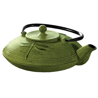 Myst-Green-28-ounce-Cast-Iron-Dragonfly-Tea-Pot-P13329485