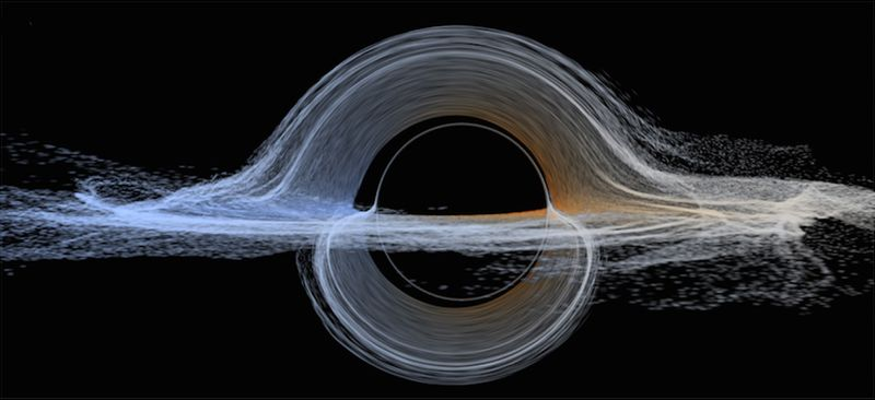 Interstellar-black-hole-doppler-shifted